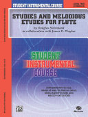 Student Instrumental Course: Studies and Melodious Etudes for Flute, Level 2