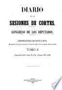Diario de las sesiones de Cortes  , Volume 2