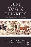 Just War Thinkers [Pdf/ePub] eBook