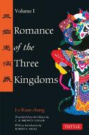 Romance of the Three Kingdoms Volume 1