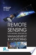 Remote Sensing for Natural Resources Management   Monitoring