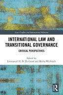 Pdf International Law and Transitional Governance Telecharger