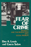 Cover of Fear of Crime