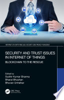 Security And Trust Issues In Internet Of Things Book PDF