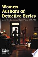 Women Authors of Detective Series