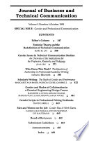 Journal of Business and Technical Communication