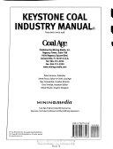 Keystone Coal Industry Manual