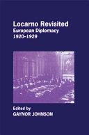 Locarno Revisited