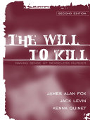 The Will to Kill Book
