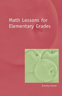 Math Lessons for the Elementary Grades