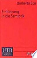 Einführung in die Semiotik