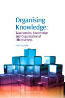 Cover of Organising Knowledge