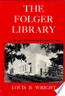 Folger Library Two Decades Of Growth