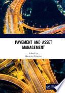 Pavement and Asset Management