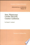 New Pleistocene Conifer Records Coastal California