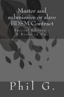 Master and Female Submissive or Slave BDSM Contract     Special Edition   5 eBooks in One