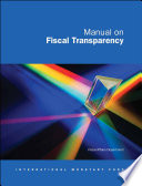 Manual On Fiscal Transparency 2007