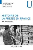 Pdf Histoire de la presse en France Telecharger
