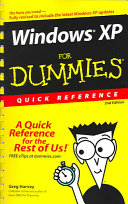 Windows(r) XP for Dummies(r) Quick Reference