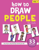 How to Draw People for Kids   Volume 1