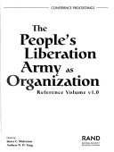The People s Liberation Army as Organization
