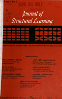 Journal of Structural Learning