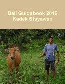 Bali Guidebook 2016