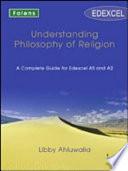 Understanding Philosophy of Religion  Understanding Philosop