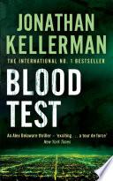 Blood Test  Alex Delaware series  Book 2