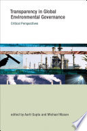 Transparency In Global Environmental Governance