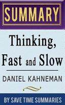 A Summary  Review   Analysis of Daniel Kahneman Book
