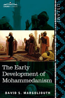 Pdf The Early Development of Mohammedanism
