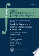 Models Logics And Higher Dimensional Categories Book PDF