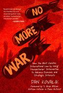 No More War Pdf/ePub eBook