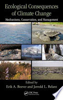 Ecological Consequences of Climate Change Book