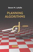Pdf Planning Algorithms