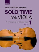 Solo Time for Viola Book 1 + CD