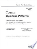 County Business Patterns: New England states.epub