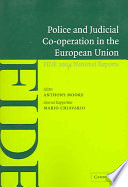 Read Online Police and Judicial Co-operation in the European Union Epub