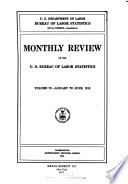 Monthly Review of the U S  Bureau of Labor Statistics