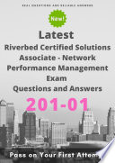 Latest 201 01 Riverbed Certified Solutions Associate   Network Performance Management Exam Questions   Answers