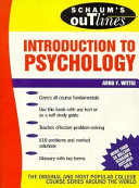 Schaum S Outline Of Theory And Problems Of Introduction To Psychology Book PDF