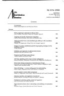 Acta Biochimica Polonica