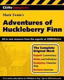 CliffsComplete Mark Twain s The Adventures of Huckleberry Finn