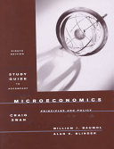 Study Guide To Accompany Microeconomics Book