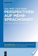 Perspektiven auf Mehrsprachigkeit