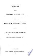 Report of the     Meeting of the British Association for the Advancement of Science Book