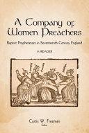 A Company of Women Preachers