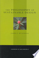 The Philosophy of Sustainable Design Book