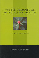 Pdf The Philosophy of Sustainable Design